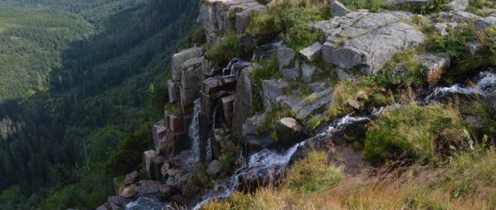 Wodospad Panczawski w Dolinie Łaby
