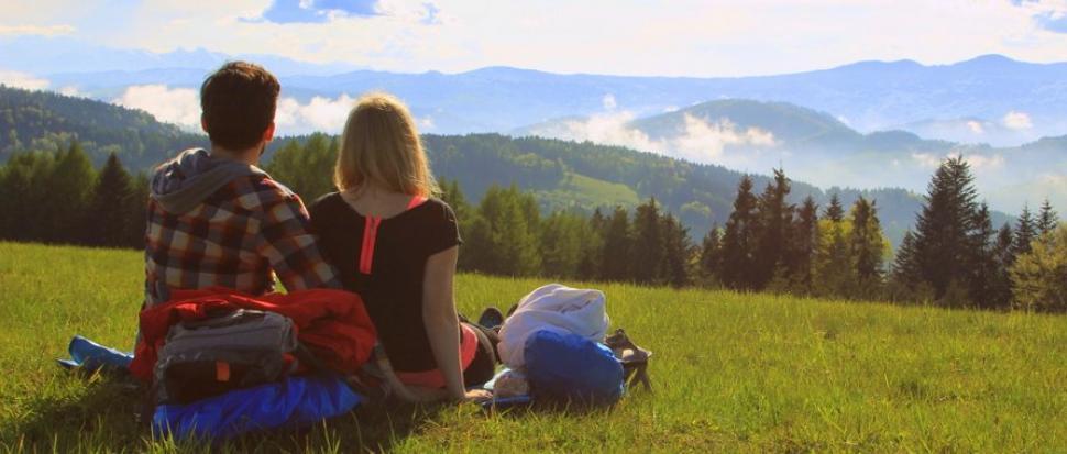Podróż beskidzkiego romantyka i rozleniwionej, która gór nie rozumiała….