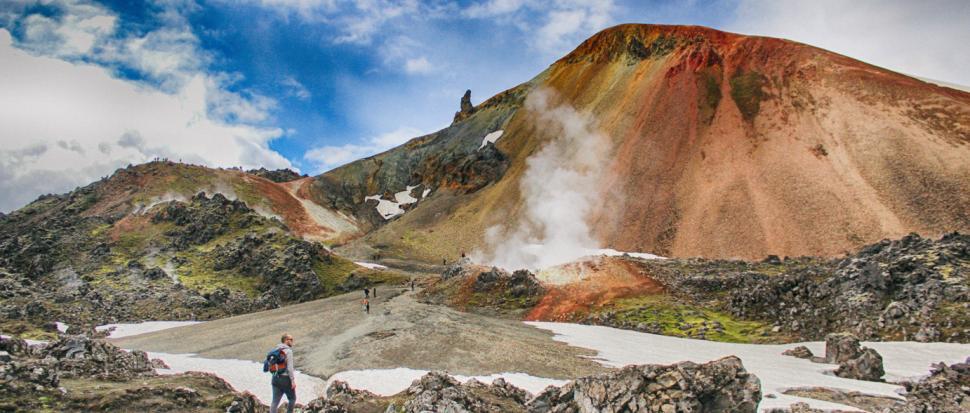 Kolorowy wulkan Brennisteinsalda