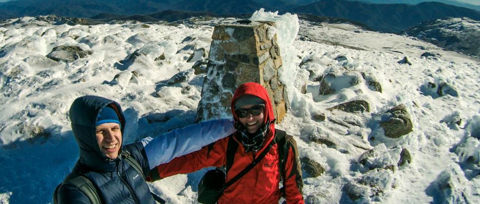 Zimowa najwyższa góra Australii