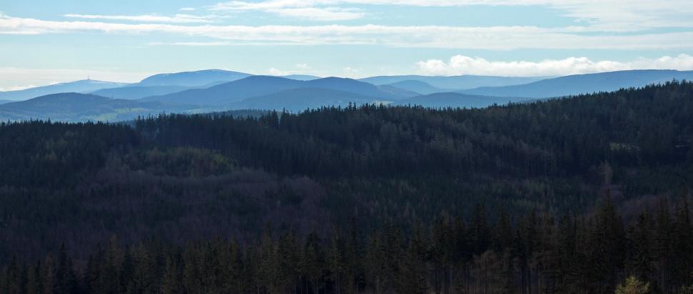 Panorama z Wysokiego Kamienia