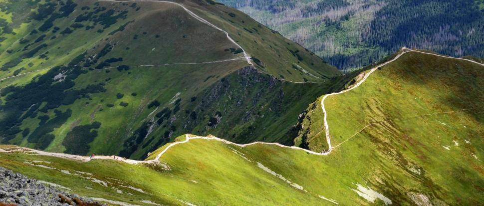 Zawsze marzyłam o takim zdjęciu! – Siwa Przełęcz i Siwy Zwornik zielenią zalane