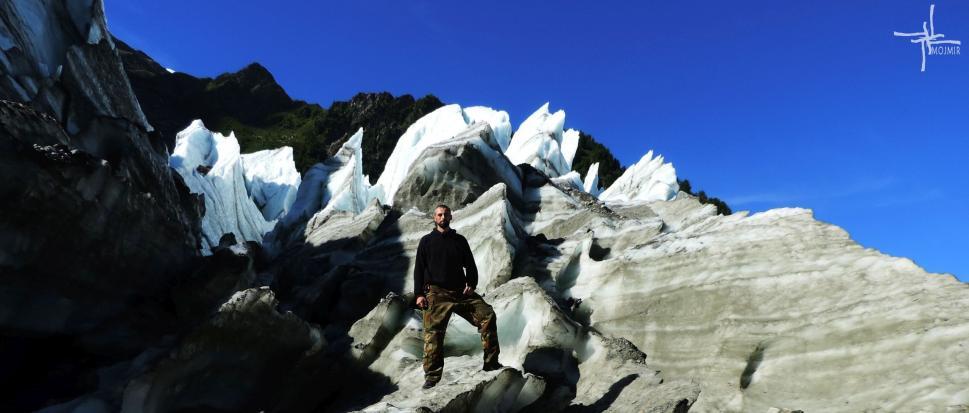We francuskich Alpach -  Na lodowiec cz I