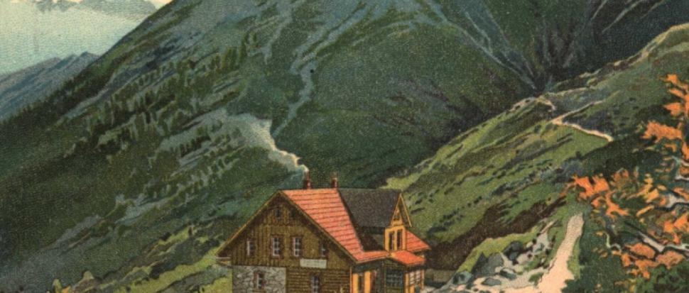 Dawne schronisko w Kotle Łomniczki