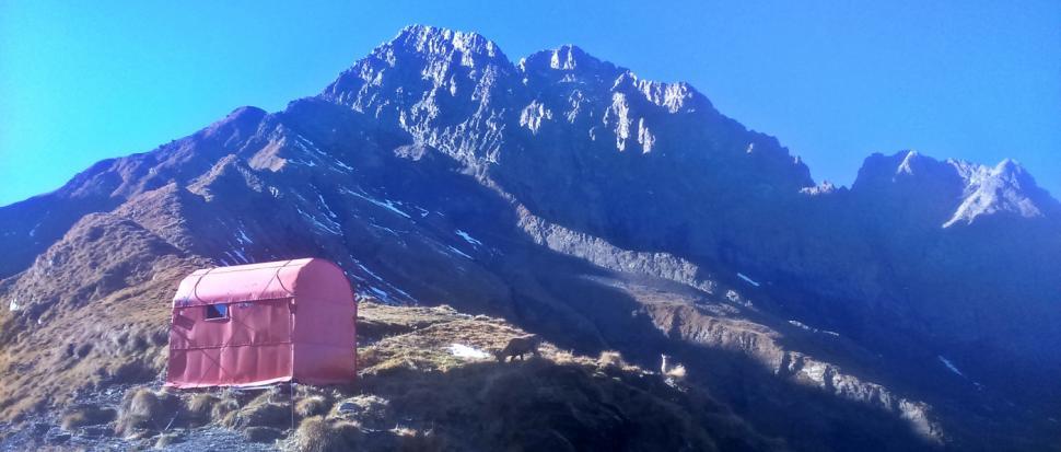 bivako Fratellini w Alpach włoskich