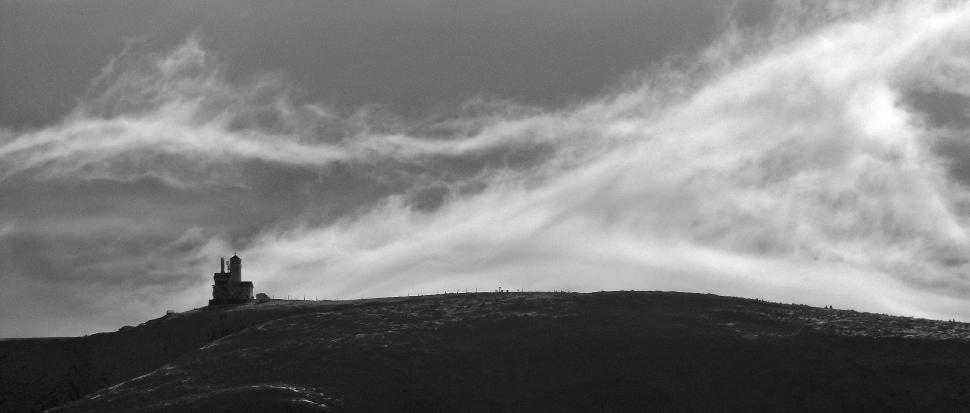 Śnieżne Kotły i furia wiatru
