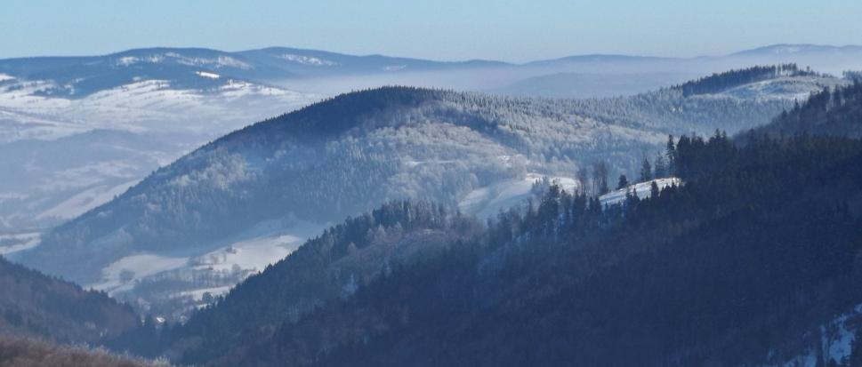 Takie ładne widoki z Sowimi Górami włącznie