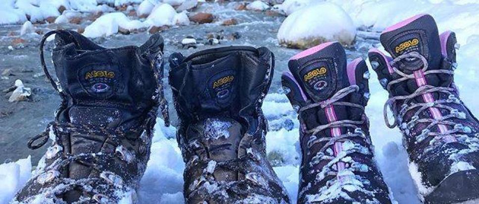 trekking zimowy