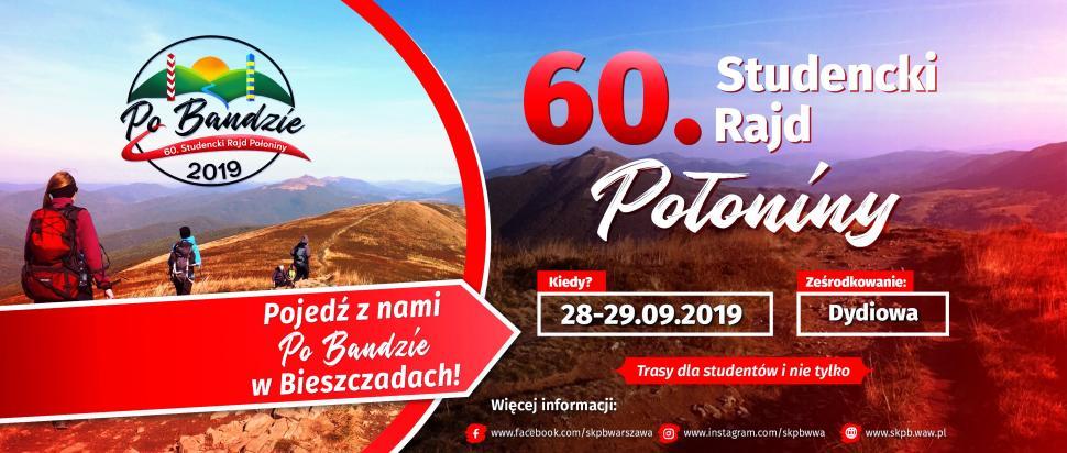 Baner_60_Studencki_Rajd_Połoniny_FB