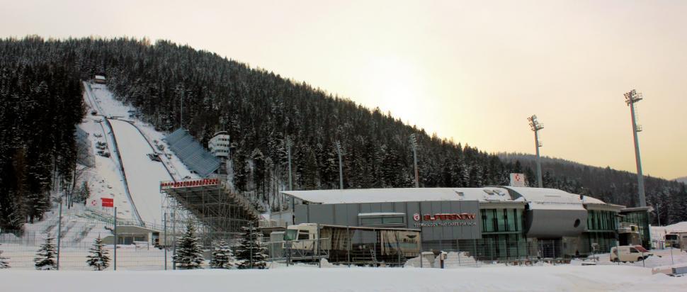 Zakopane - skocznia narciarska Wielka Krokiew
